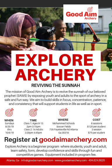 Fall Explore Archery Program